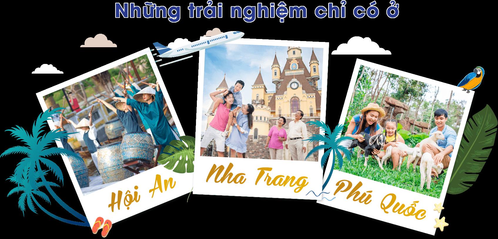 những trải nghiệm chỉ có ở hội an, nha trang, phú quốc - header-title - Những trải nghiệm chỉ có ở Hội An, Nha Trang, Phú Quốc